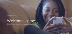 Facebook Home Promo Image